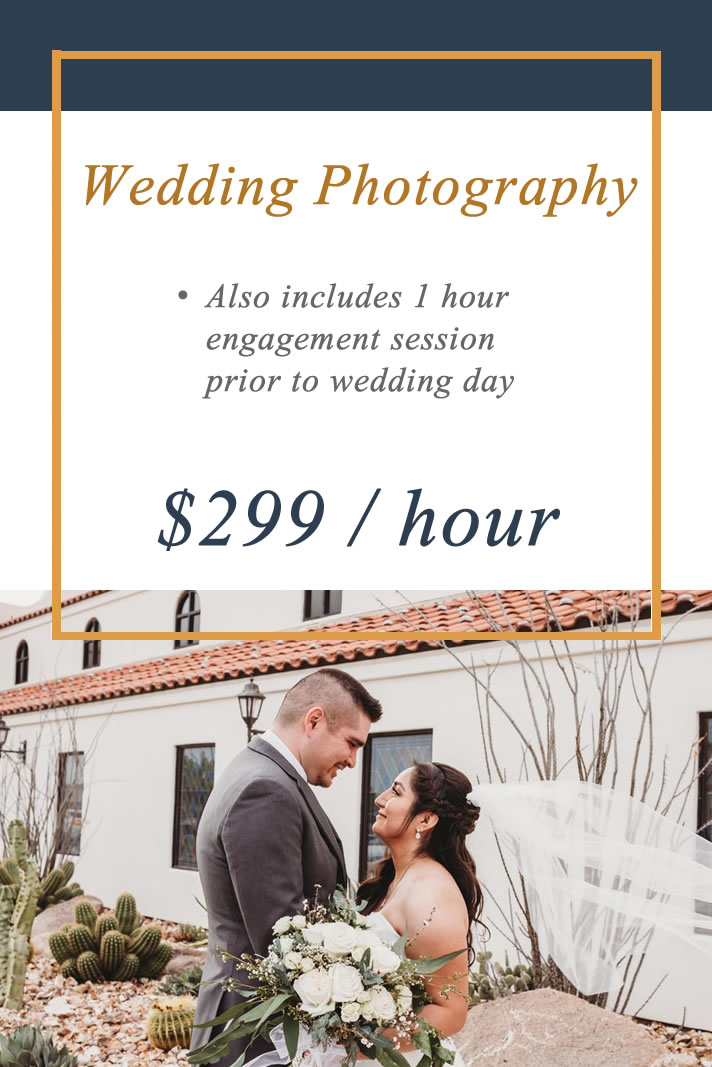 Wedding Session - Investment